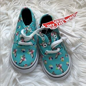 NWT Vans toddler shoes